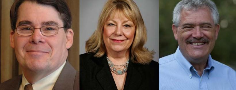 Senator Mark Gronstal, Senator Pam Jochum, Representative Mike Smith