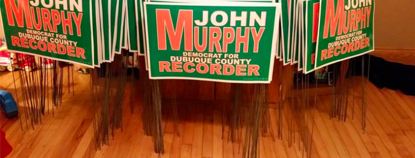 Murphy for Recorder Signs