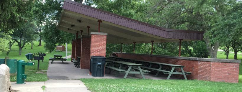 Flora Park Brick Pavilion