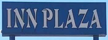 Inn Plaza sign