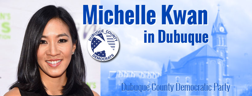 Michelle Kwan in Dubuque