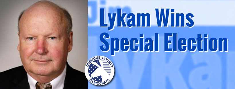 Lykam Wins Special Election