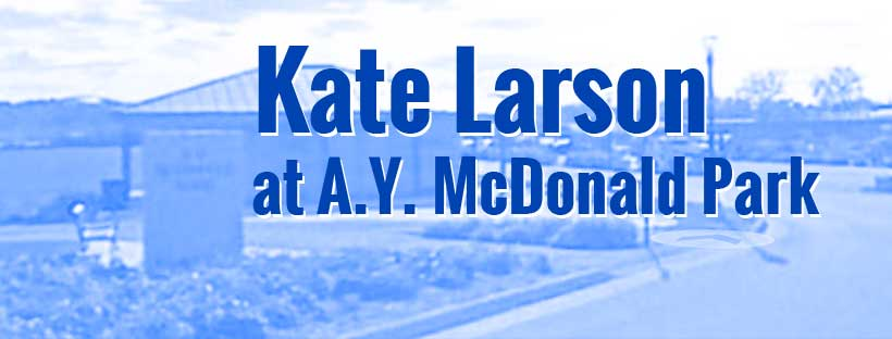 Kate Larson at A.Y. McDonald Park
