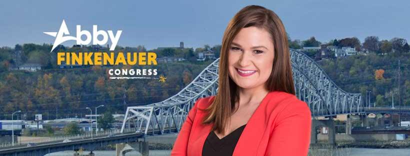 Abby Finkenauer for Congress banner
