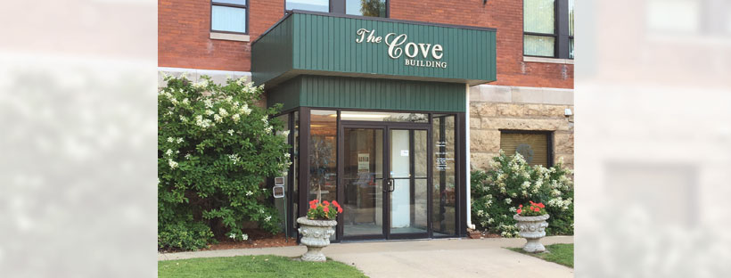 The Cove entry doors