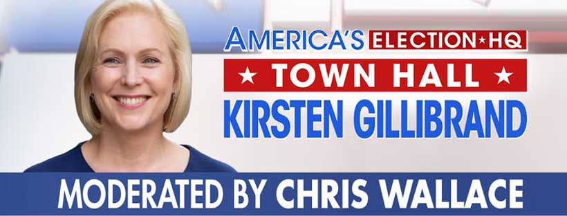 Fox News Town Hall with Kristen Gillibrand at University of Dubuque