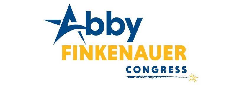 Abby Finkenauer logo